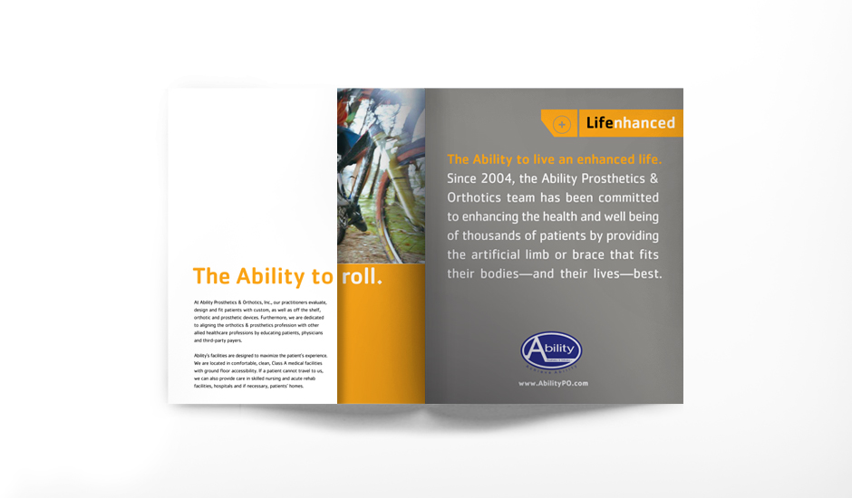 Ability Corporate Brochure Spread