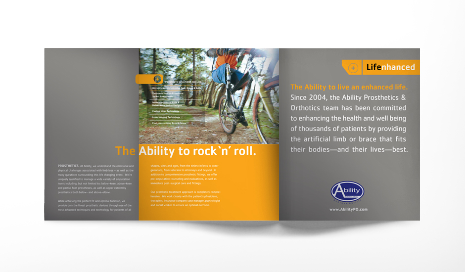 Ability Corporate Brochure Spread (opened all the way)