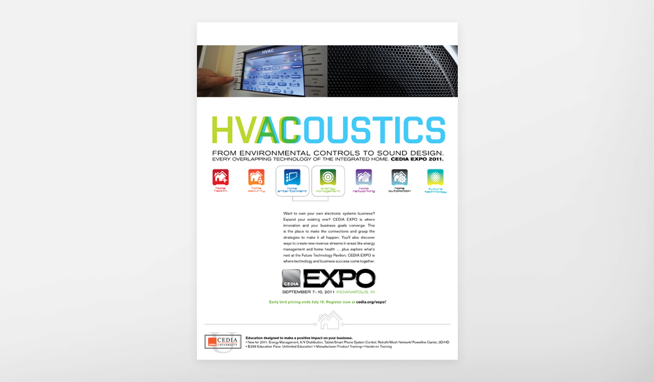 CEDIA HVAC and Acoustics Ad