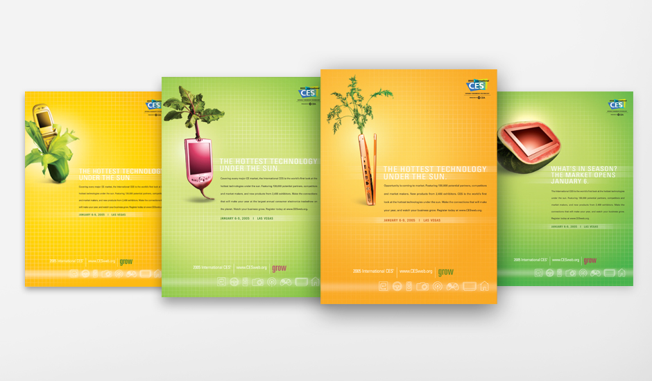 "Four of the CES ""Grow"" Ads"
