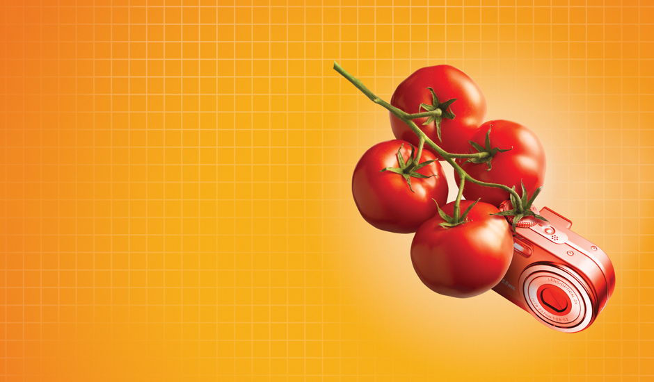 "A Detail of the ""Tomato"" Ad"