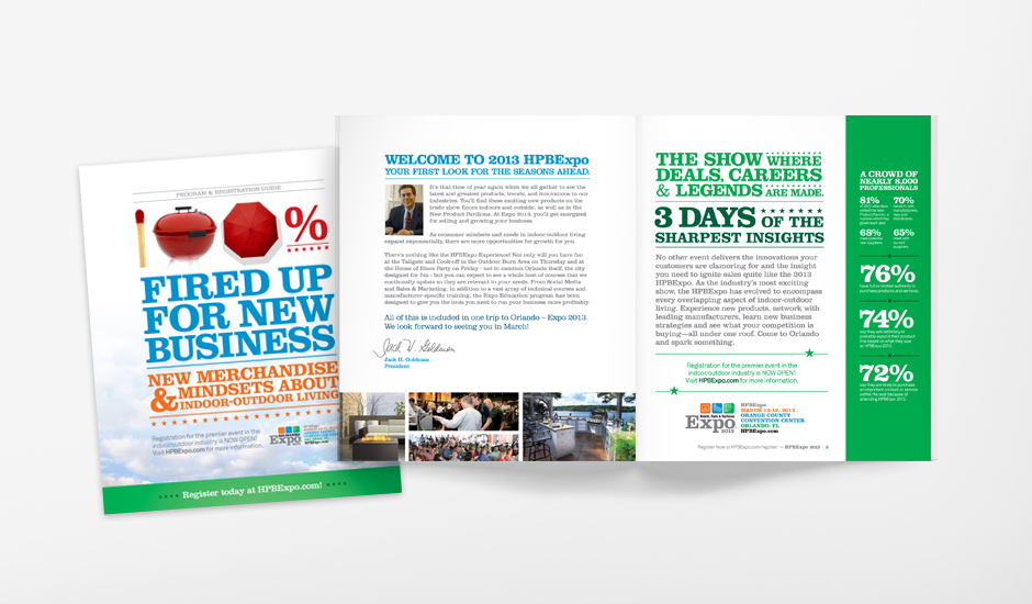 HPBExpo 2013 Event Marketing Exhibitor Micro Registration Brochure