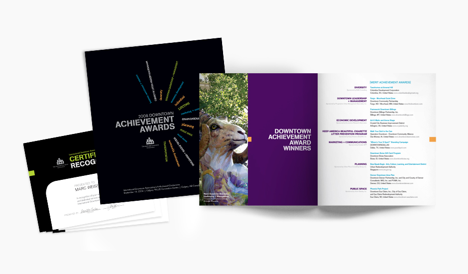 IDA Annual Conference Marketing Awards Registration Brochure