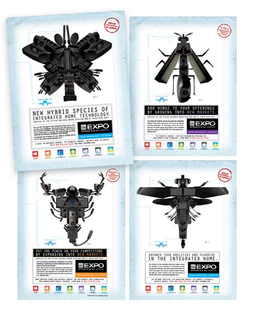 """CEDIA Expo 2013 """"Evolve"""" Ad Campaign"""