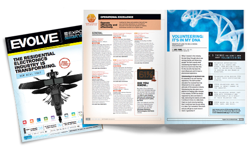 CEDIA Expo 2013 Registraion Brochure