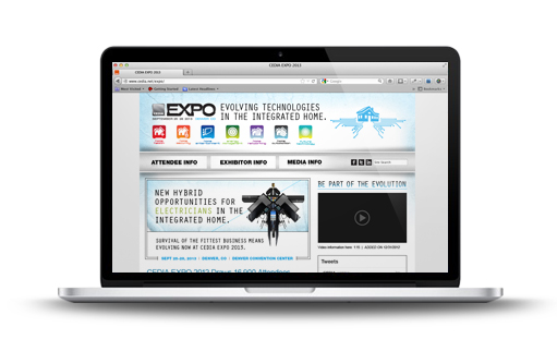 CEDIA Expo 2013 Website