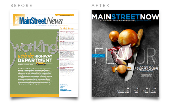 Main Street News and Main Street Now Covers
