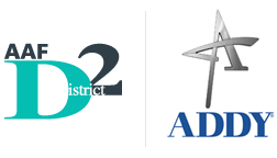 AAF D2 and Addy Logo