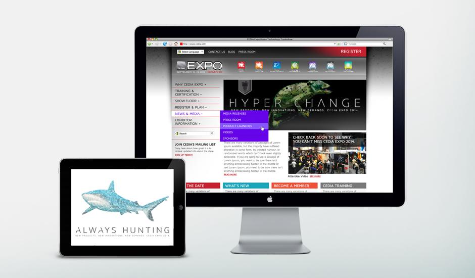 CEDIA mobile website