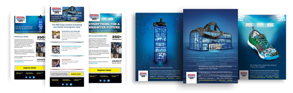 2015 ABExpo Show Email Campaign and Collateral