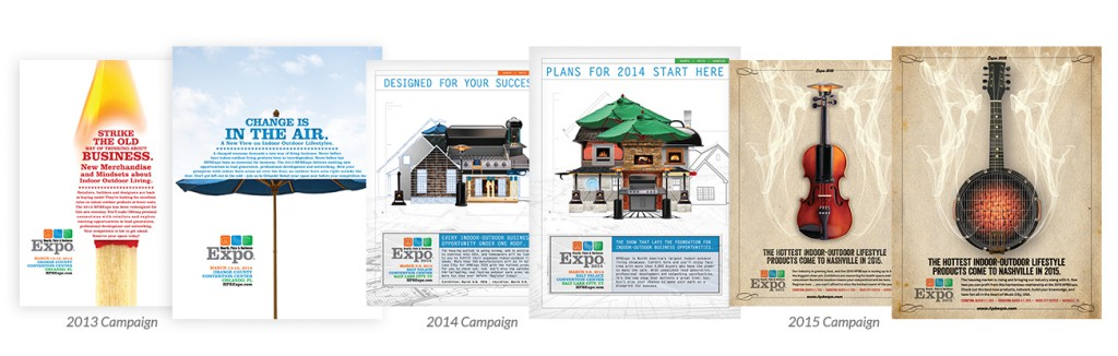 HPBExpo Campaigns from 2013 to 2015