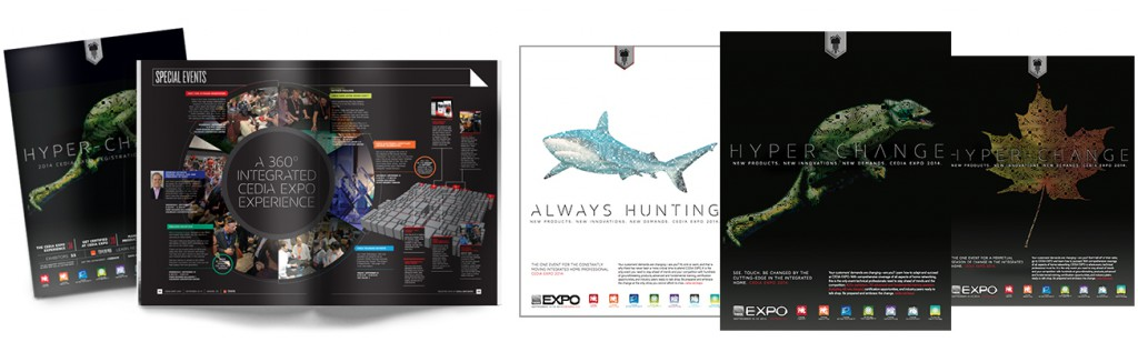 "CEDIA 2014 ""Hyperchange"" Campaign"
