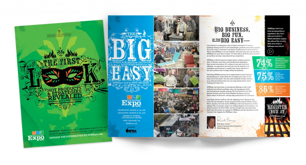HBPExpo 2016 Registration Brochure