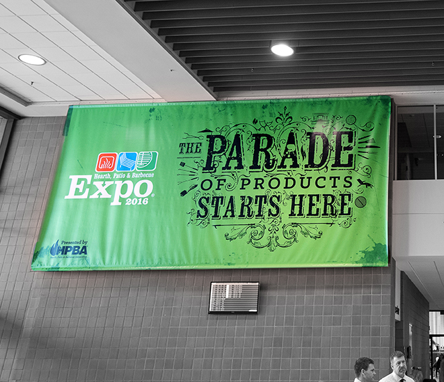 HPBExpo 2016 signage